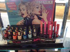 Rimmel Rita Ora Makeup Collection for Spring 2015 – Musings of a Muse Rimmel Makeup, Drugstore Makeup, Makeup Products, Beauty Products, Makeup Display, Pop Display, Retail Merchandising, Eye Shadows, Summer Beauty