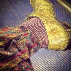 #exoticskins #crocodile #shoes #striped #socks #etro #paisley #velvet #slacks #ridiculouscolor