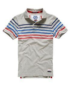 Superdry Bay Stripe Polo Shirt