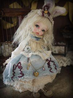 dollsociety:    blue rabbit