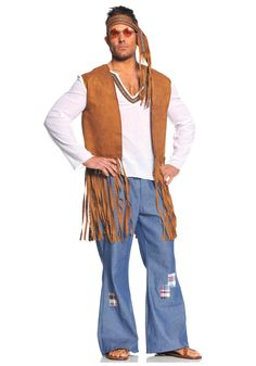 "My ""Hippie Love"" novel trucks through an era like this ... Let's be honest -- nobody we knew dressed quite like this. Yet the caricature lingers. Maybe if he had insignia and cause-promoting buttons on his vest?"