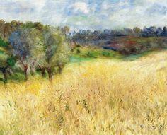 """Sopra il grano  che cresce  c'è sempre  il cielo,  tutto quanto. """"Dal diario di Etty Hillesum"""""""