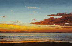"""Erika Toliusis  Encantado  Oil on canvas  36"""" x 56"""""""