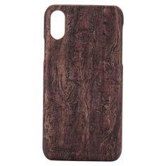 coque en bois pour Iphone X