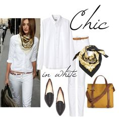 """White Out"" by bluehydrangea on Polyvore"