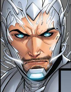 Detail from Superior Iron Man #6 Story: Tom Taylor, Art: Laura Braga Colors: Guru e-Fx, © Marvel Comics