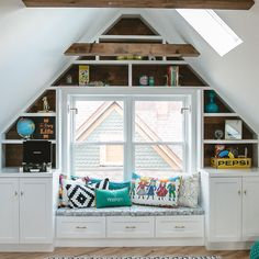 Simple and Creative Tricks Can Change Your Life: Simple Attic Remodel attic conversion kitchen.Attic Living Tiny Homes attic conversion kitchen.Attic Home. Built Ins, Home, Renovations, Attic Apartment, Attic Renovation, House, Modern Loft, Loft Conversion, Attic Conversion