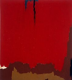 """Clyfford Still, """"Untitled"""" (1954) 