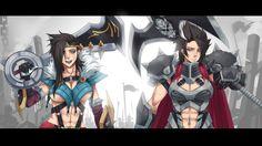 Draven Darius Girl League of Legends HD Wallpaper Exaxuxer