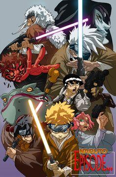 Naruto Star Wars.... by greenestreet.deviantart.com