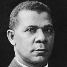 Booker T. Washington (born April 5, 1856) was the founder of Tuskeegee Institute and the leading African American voice at the end of the 19th century. Other leaders such as W.E. B. DuBois disagreed with his accommodationist views. #TodayInBlackHistory
