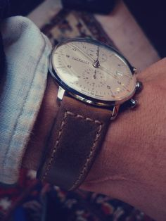 Still one of my favourites, looking great on a rustic brown leather strap.
