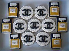 Cute Chanel Cookies