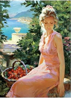 Gallery of artist Vladimir Volegov, portraits of very beautiful women. Woman Painting, Figure Painting, Painting & Drawing, Female Portrait, Portrait Art, Vladimir Volegov, Beauty In Art, Ecole Art, Foto Art