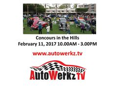 Concours in the Hills http://autowerkztvnews.blogspot.com/2017/02/concours-in-hills.html  Subscribe to http://www.Autowerkz.TV powered by gloo.tv @AutoWerkzTV #motorsports #automotive #automotive #Nascar