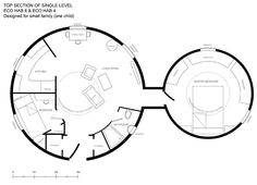 dome Floor Plans | To learn more visit the Eco Hab website .