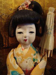 Adorable Vintage Japanese Geisha Maiko by ShiningChrysanthemum