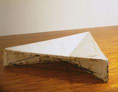 Bruce Nauman, Model for Triangular Depression