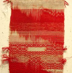 Weaving by Stephen Tornero. http://stephenweaves.tumblr.com/post/52264776525/so-this-is-coming-out-of-the-bag-for-the-show-i