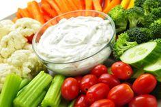 Elle accompagnera vos légumes merveilleusement...voici la trempette ranch