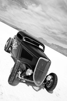 Chopped 33 Ford B/W