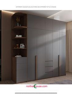 Wardrobe Laminate Design, Wall Wardrobe Design, Wardrobe Interior Design, Wardrobe Door Designs, Wardrobe Room, Bedroom Closet Design, Bedroom Furniture Design, Closet Designs, Master Bedroom Design