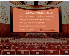 #Shimla_Manali Trip Every day you can book Shimla Manali #Trip,Here is the Sense Viewing Deserving, and you, can click the photo, Banner, Scenery, Funny Image, Jungle, and More,