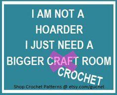 I need a bigger #crochet room. @guchet