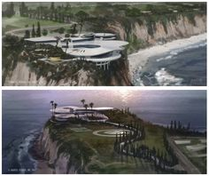 Stark Modernism: Tony Stark's Malibu home from Iron Man...too bad it's not real:-(