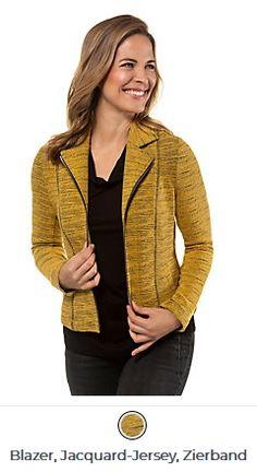 Erhältlich im online shop von gina-laura.com mit 8% Cashback für KGS Partner Kai, Im Online, Blazer, Sweaters, Shopping, Fashion, Moda, La Mode, Sweater