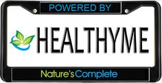 HEALTHYME Plate