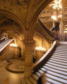 Opera Garnier. Most beautiful building I have ever been in.