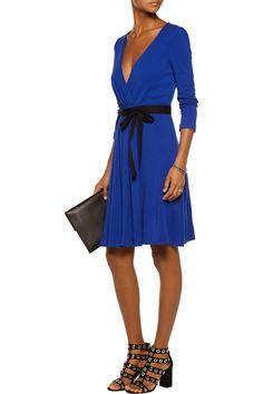 Diane von FurstenbergWool-jersey wrap dressfront