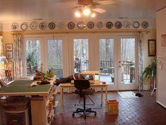 The studio of Rhondi Mullins