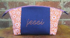 Such a cute gift idea! Personalized Take Along Bag