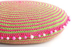 Crochet Spiral Cushion - Tutorial