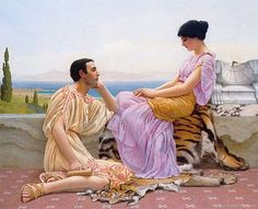John William Godward - Youth and Time (1901)