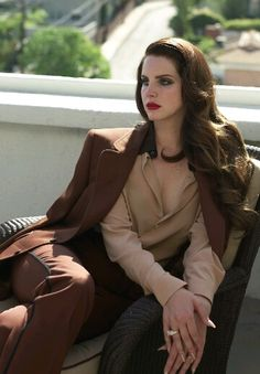 Lana Del Rey by Francesco Carrozzini for L'Uomo Vogue Magazine, 2014. (HQ Untagged and Unedited) #LDR