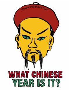 What Chinese year is it?  http://researchmaniacs.com/ChineseZodiac/WhatChineseYearIsIt.html