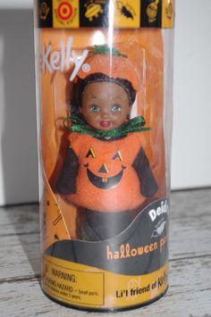 Halloween Party Kelly~ DEIDRE~ Pumpkin ~Barbie~Target Exclusive~NIP #BARBIE #KellyDoll