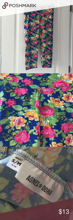 Agnes & Dora super soft Capri leggings (lularoe) Agnes & Dora super soft Capri leggings (lularoe feel and style) - size small - worn 1x - perfect condition Agnes & Dora Pants Leggings