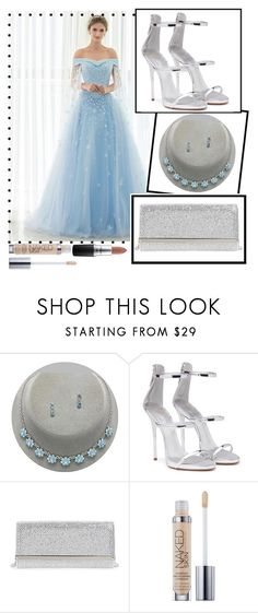 """""""Something Blue For Happiness"""" by beerrks ❤ liked on Polyvore featuring Giuseppe Zanotti, Jimmy Choo, Urban Decay, MAC Cosmetics, Blue and something"""