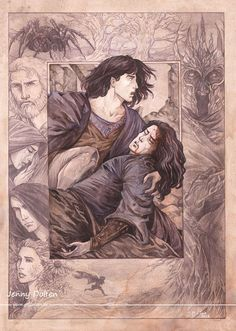The Darkening of Valinor  This event ultimately included the murder of Finwë, High King of the Ñoldor, at Formenos, the stronghold of Feanor, and the theft of the Silmarils. This all brought about the exile of the Noldorin elves from Valinor, the first risings of the sun and moon, and the Awakening of Men in Middle-earth at Hildórien.