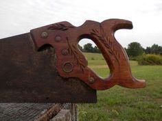 vintage disston hand saw - Google Search