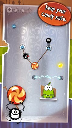 Cut the Rope- Engineering