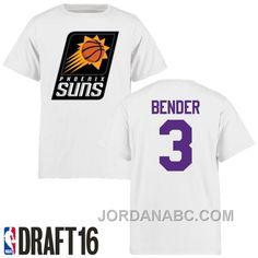 http://www.jordanabc.com/dragan-bender-phoenix-suns-3-2016-nba-draft-pick-name-number-white-tshirt-cheap-to-buy.html DRAGAN BENDER PHOENIX SUNS #3 2016 NBA DRAFT PICK NAME & NUMBER WHITE T-SHIRT CHRISTMAS DEALS Only $49.00 , Free Shipping!