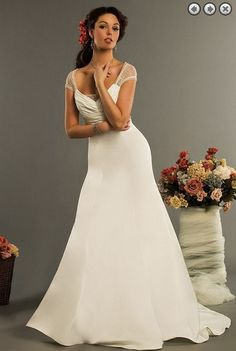 >> Click to Buy << shopping sales online 2016 new design fashion cap sleeve sexy backless button zipper bridal gowns beading wedding dress #Affiliate
