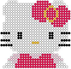 Hello Kitty perler bead pattern by gohan-8866
