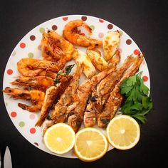 #fish #foodporn #gambas #sepia #seafood #barbe #poisson