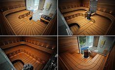 1. Aikaa kestävä design Saunan sisustus on kokonaisuus jossa kannattaa miettiä kaikki yksityiskohdat kerralla! Kaikki saunamallistomme ovat sisustussuunnittelijoiden, sisustusarkkitehtien ja puuseppien yhdessä suunnittelemia ja niiden yksityiskohdat on hiottu tarkasti mallistoon sopiviksi. Saunan laudemallistomme kestävät aikaa eivätkä harkitut yksityiskohdat näytä muutaman vuoden päästä vanhoille ratkaisuille. 2. Työn laatu Mietityttääkö sinua tuleeko saunastasi harjoituskappale? Sun Sauna… Scenery Pictures, Saunas, Koti, Steam Room